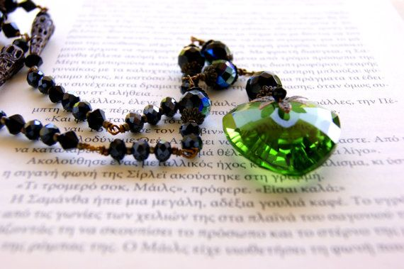 Green Heart by RenatasArt on Etsy, €25.00