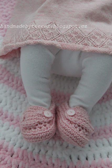 Lavande-Provence  ... DIY crochet blanket ... pink ... baby ...