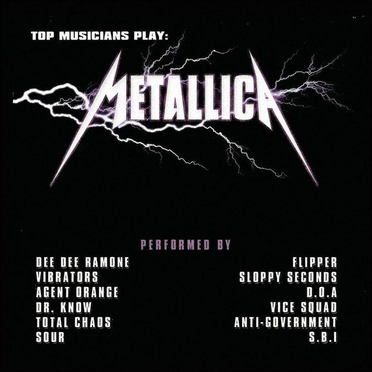 Various Artists - Top Musicians Play: Metallica (CD)