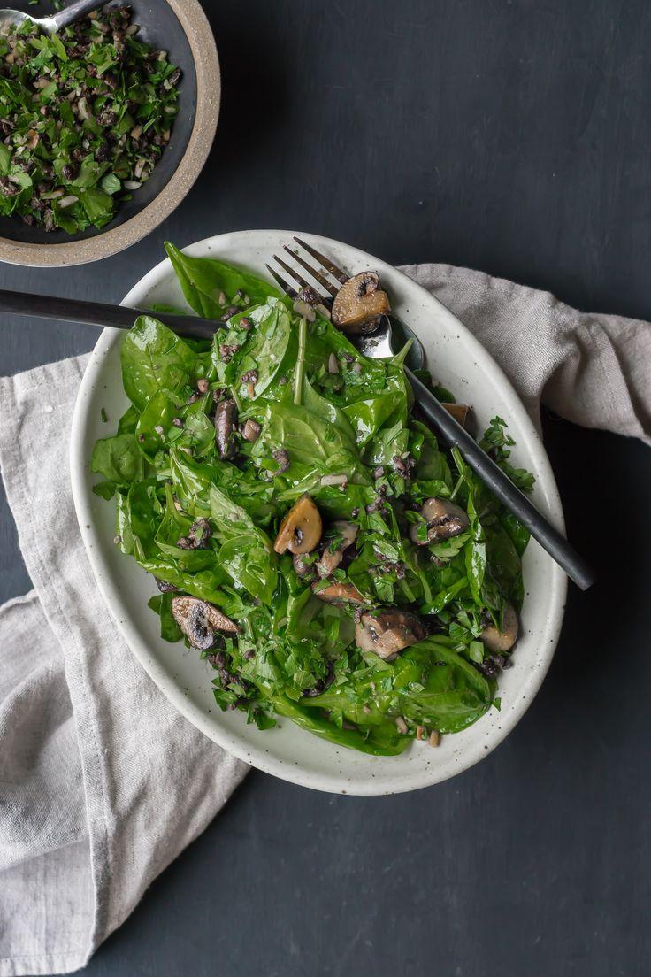 Babyspinat salat gesund
