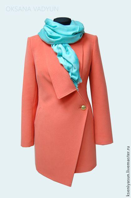 Пальто демисезонное roter Kaviar. Handmade.