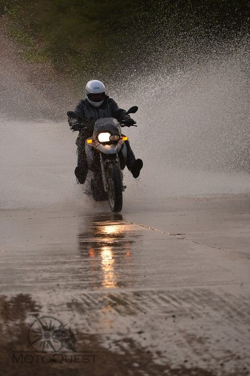 There is a chance you will get wet on MotoQuest´s South Africa Backroads Motorcycle Adventure ;) Click here to know more: https://www.motoquest.com/guided-motorcycle-tours-southafrica/