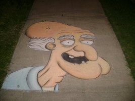 Herbert the Pervert in Chalk