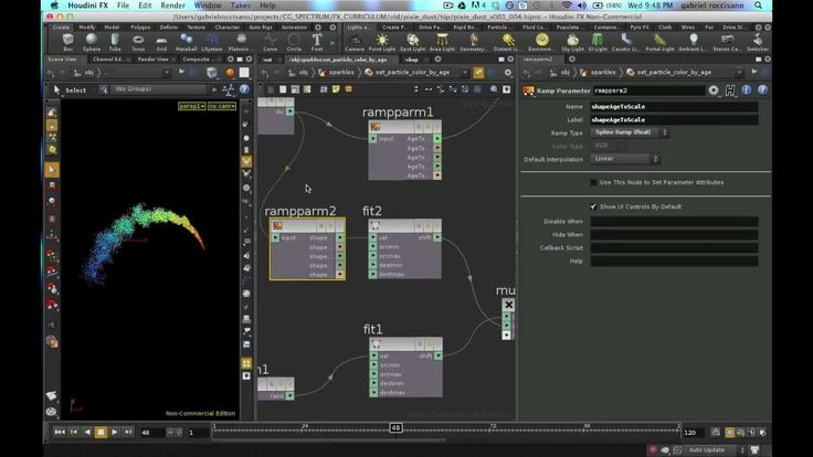 Basic FX in Houdini: A How to video