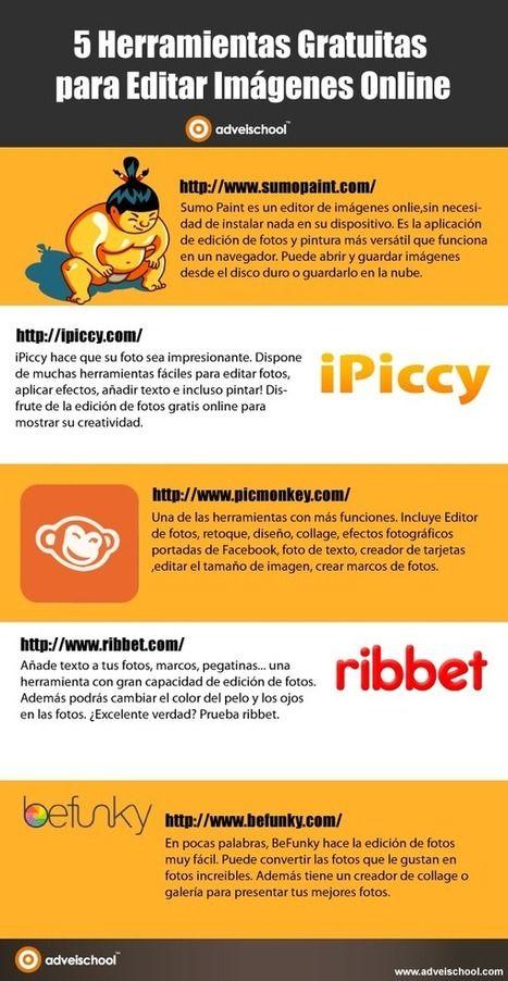 5 Herramientas gratuitas para editar Imágenes Online | LabTIC - Tecnología y Educación | Scoop.it