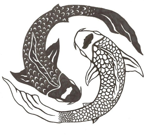 Koi fish yin yang tattoo bing images tattoo ideas for Koi fish pisces
