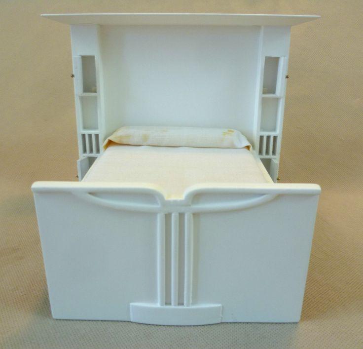 Dolls House Emporium Charles Rennie Mackintosh Double Bed 3424 - Rare | eBay