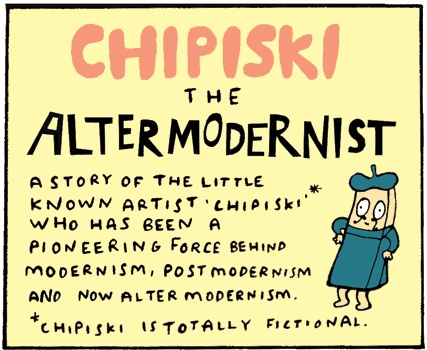Altermodern chipiski cartoon A