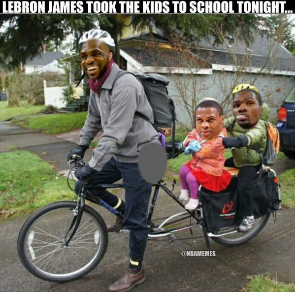 RT @NBAMemes: LeBron James against Kevin Durant & Russell Westbrook today. #Thunder #Cavs - http://nbafunnymeme.com/nba-funny-memes/rt-nbamemes-lebron-james-against-kevin-durant-russell-westbrook-today-thunder-cavs