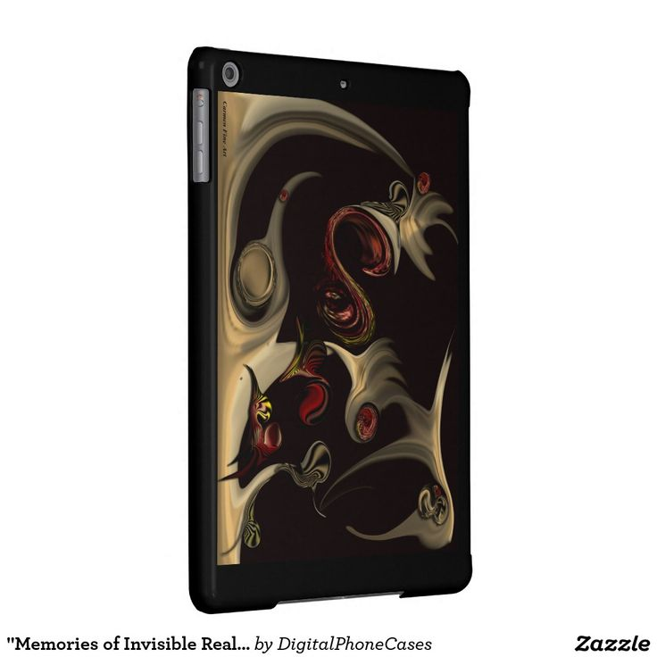 """Memories of Invisible Reality"" - iPad Air Case"