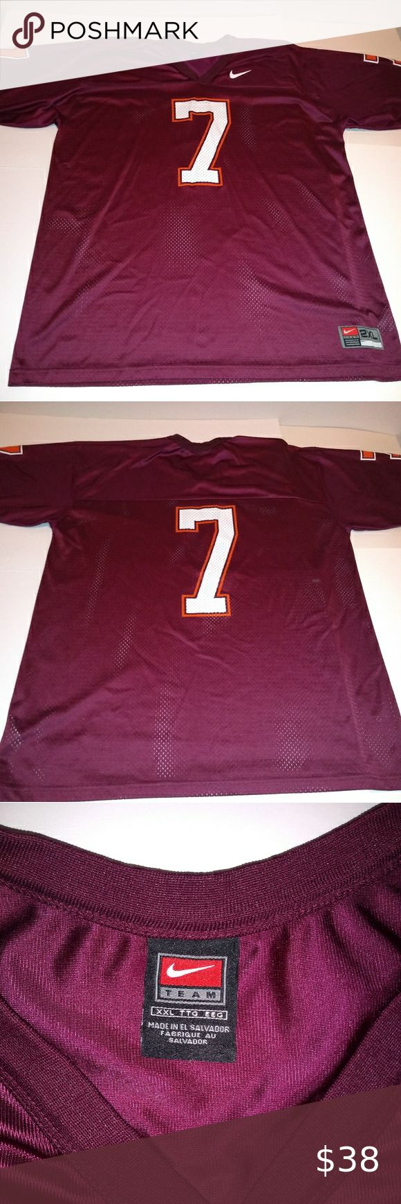 Nike Michael Vick Virginia Tech 2XL You are looking at a