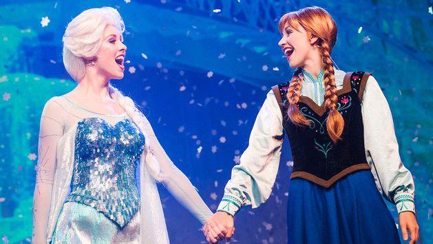 Frozen Sing-Along Celebration at Walt Disney World Florida!
