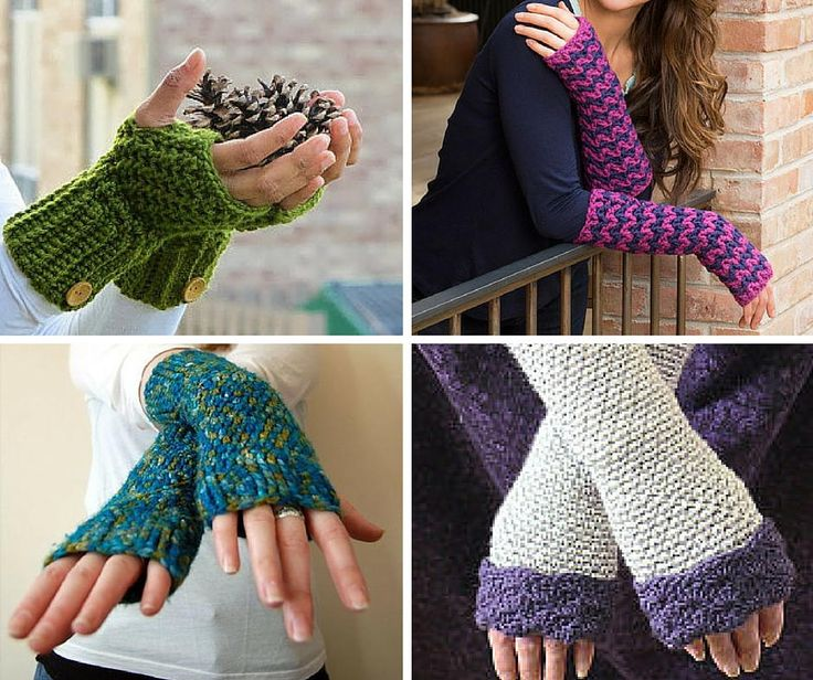 68 Best Crochet Fingerless Gloves Patterns Images On Pinterest