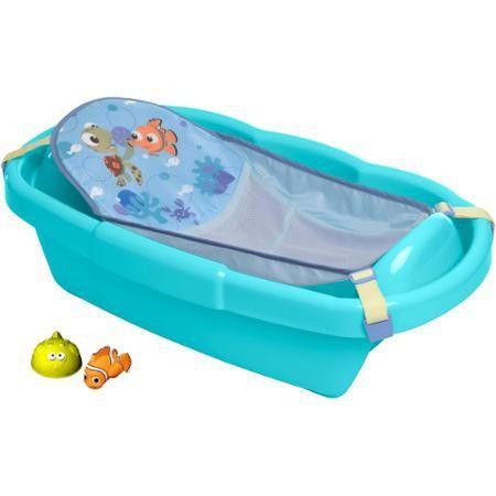 Finding Nemo Newborn to Toddler tub w/toys