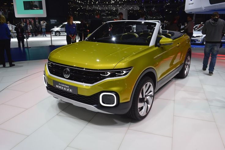 Underpinning the VW T-Cross Breeze concept is a front-wheel drive architecture powered by a 1.0-liter turbocharged, direct-injection gasoline engine (TDI)