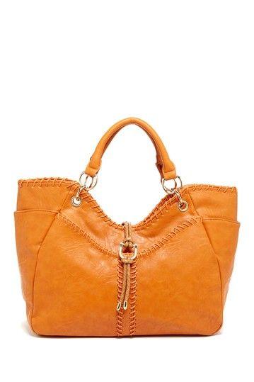 Laced Trim Satchel Bag