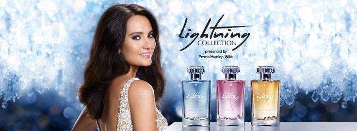 Emma Heming-Willis tarafından yaratılmış olan, içerisinde gerçek Swarovski® kristalleri içeren yeni Lightning Patfüm Koleksiyonu, hayatınızın dikkat çeken kokularını sunmuş olduğu üç romantik parfüm ile ortaya çıkartıyor. Emma Heming-Willis tarafından sunulmuş olan olan kokuların baştan çıkarıcı benzersiz büyüsü, gerçek Swarovski® kristallerinin sınırsız ışıltısı sayesinde vurgulanıyor.