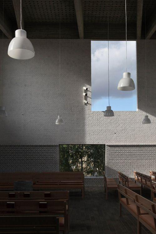 arsta church   interior ~ johan celsing arkitektkontor