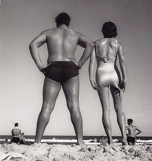 Max Dupain    (Australia 22 Apr 1911–27 Jul 1992)    Title      Form at Bondi   Year      1939  Media category      Photograph   Materials used      gelatin silver photograph