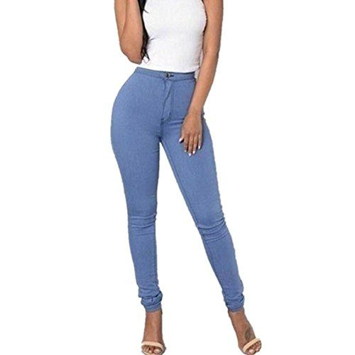 New Trending Denim: OUBAO Women Multi Colors Casual Denim Jeans Pants (XL, Blue). OUBAO Women Multi Colors Casual Denim Jeans Pants (XL, Blue)  Special Offer: $11.35  299 Reviews Specifications: Pant Style:Pencil Pants Front Style:Flat Decoration:None Pattern Type:Solid Style:Casual Fit Type:Skinny Waist Type:High Waist Package include:1PC Pant Size Details:...