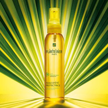 #protect your#hair from #sun #highprotection #renefurterer #oil #sea #swimmingpool