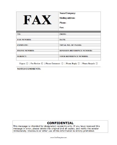 11 best Printables~Fax Cover Sheets images on Pinterest Sample - cover sheet for fax