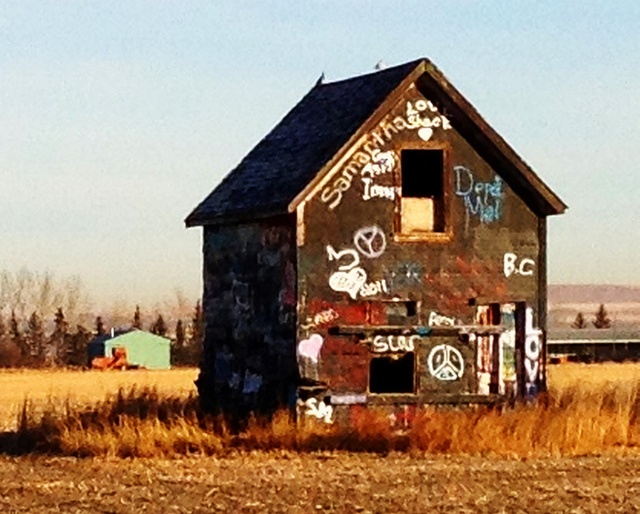grad shack out in the country close to where I live! Drive past this thing all the time!