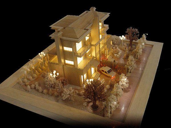 중국 건축 모형 제작자/소형 건물 건축 모형, 축소 모형 기차 협력 업체