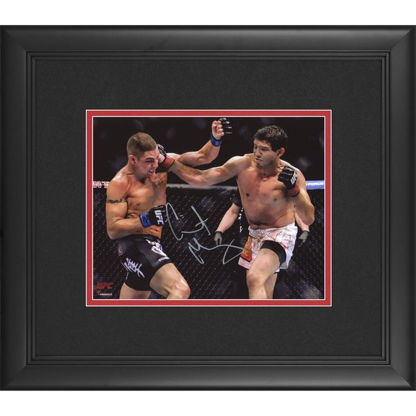 Gilbert Melendez Ultimate Fighting Championship Fanatics Authentic Framed Autographed 8'' x 10'' Horizontal Punching Photograph - $89.99