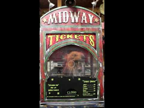 Animatronic Wolf Ticket Booth