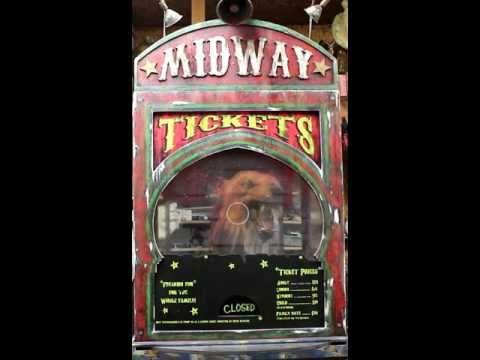 Animatronic Wolf Ticket Booth