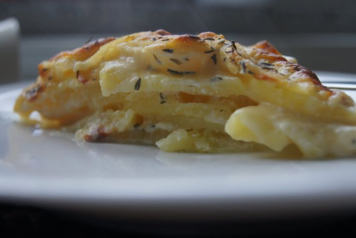 Kartoffelgratin - Vegan einfach