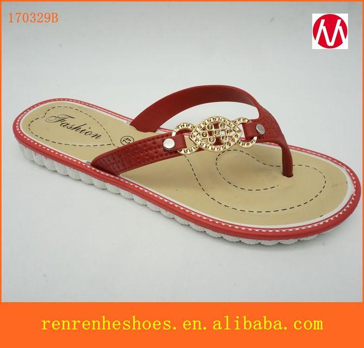 2017 fashion PVC PCU Summer beach slippers cheap wholesale flip flops