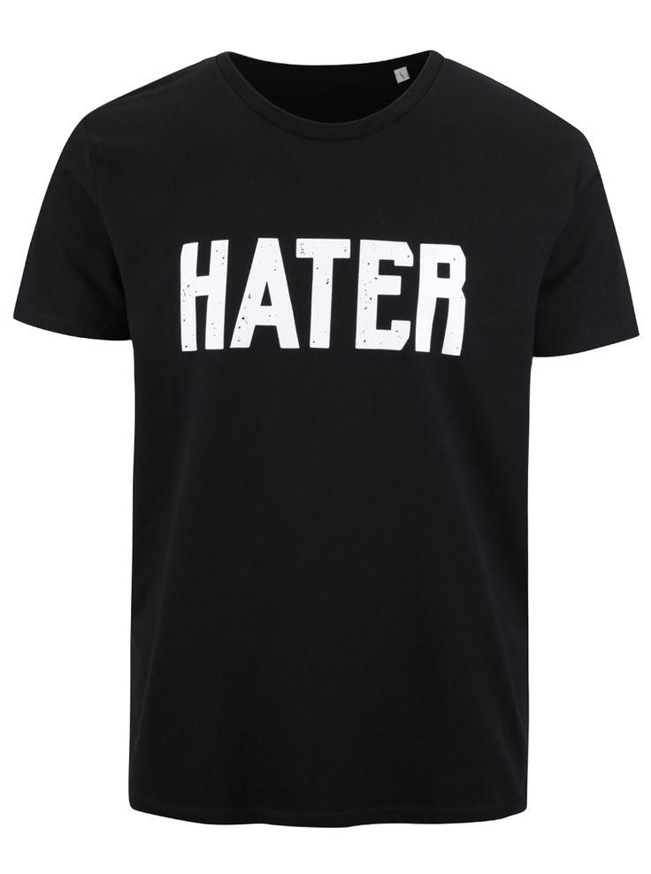 Tricou negru ZOOT Original Hater din bumbac pentru bărbați