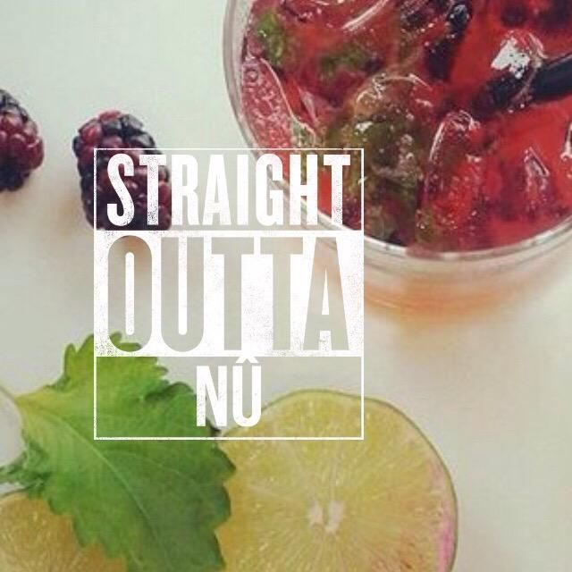 Don't miss out on 10% off all food, plus $6 Shiso Mojitos for Ladies night at NÛ! #burgushi #yycdrinks #yycfoodies