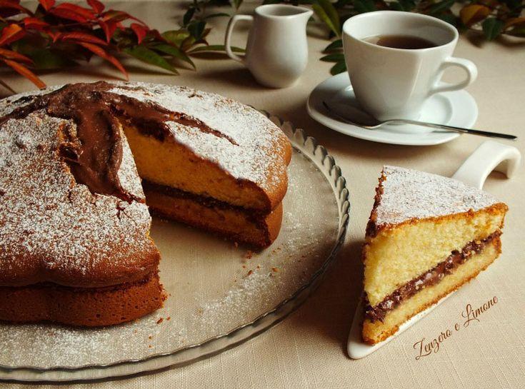 La torta al mascarpone e nutella è un dolce golosissimo e morbido che piace davvero a tutti. Una torta quattro stagioni.