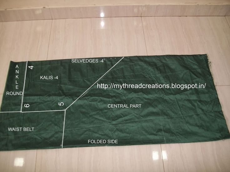 How to sew a semi-patiala salwar