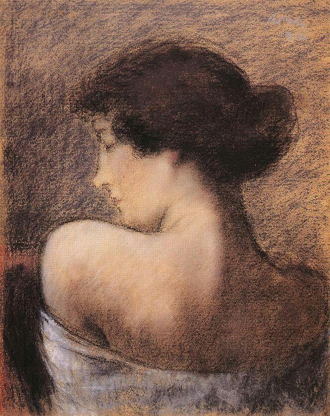 Profile of a Woman, József Rippl-Rónai
