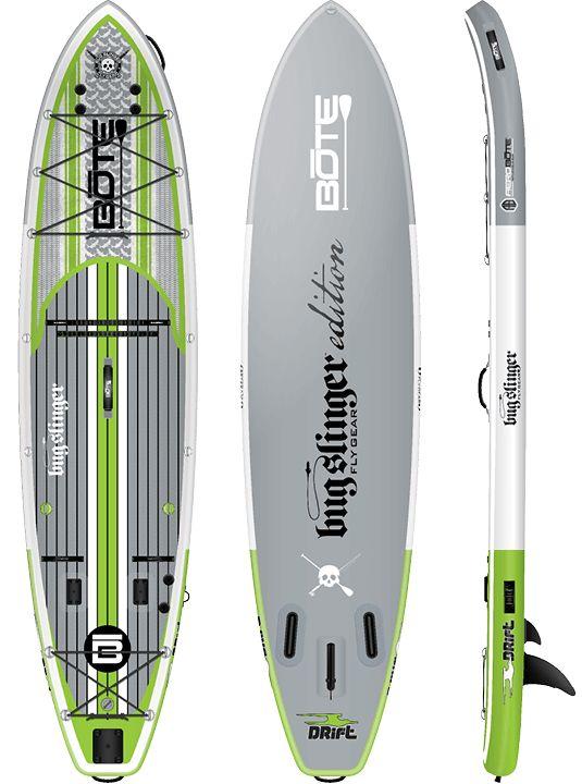 BOTE Drift 116 Bug Slinger Inflatable Fishing Paddle Board