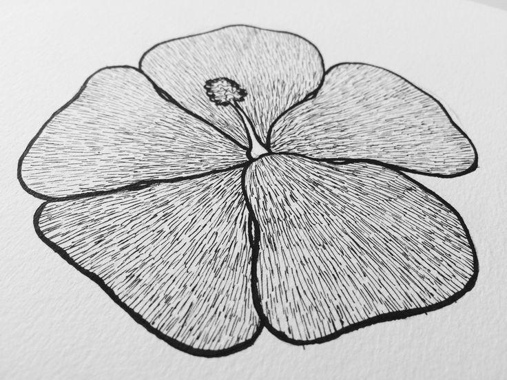 Flor tiralíneas