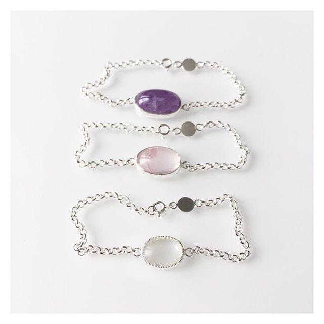 🍬🍬🍬 #silver #bracelets #finnishdesign #handmadeinpori #handmadejewelry #oonaarmiajewelry