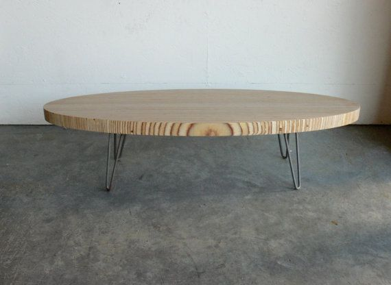 Mid Century Modern Eames Inspired Coffee Table Furniture Plywood Oval Tables