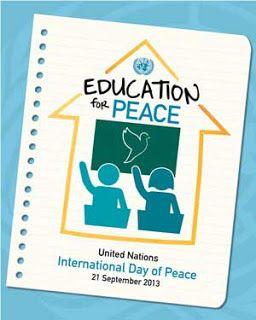 Ιδέες για δασκάλους: 21 Σεπτεμβρίου-Παγκόσμια μέρα για την Ειρήνη