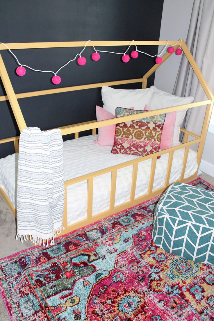 Best 25+ Toddler house bed ideas on Pinterest | House bed frame ...