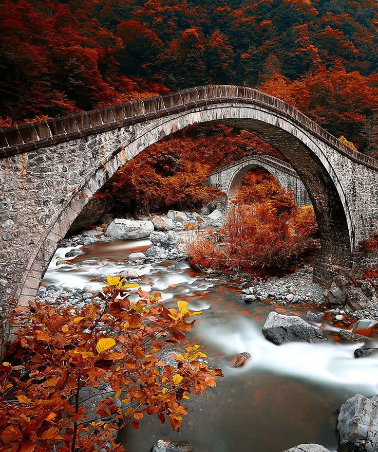 Double Stone Bridges ~ RizE, Turkey