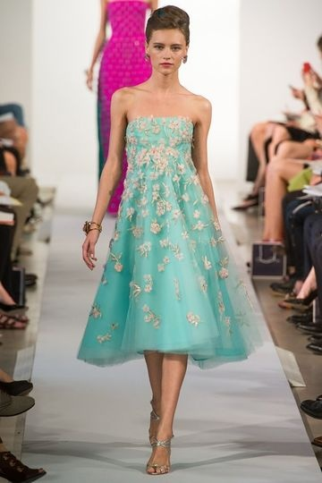 Spring 2013 Oscar de la Renta New York Fashion Week