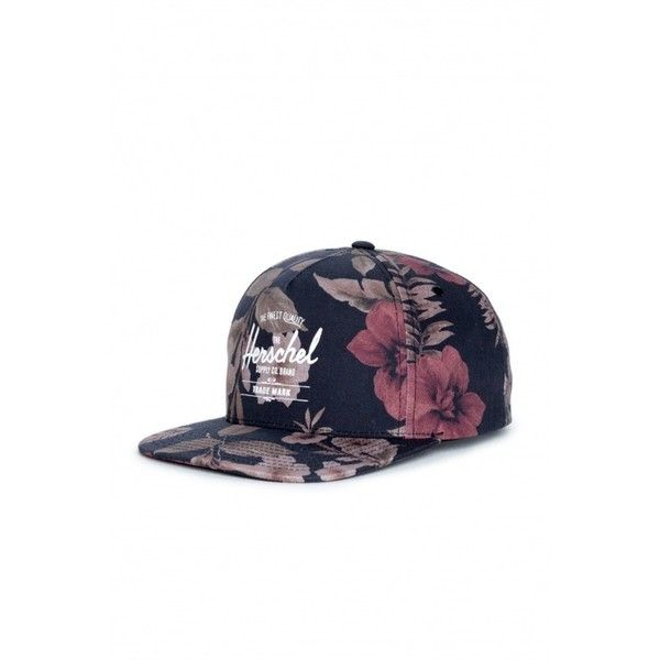 Herschel Supply Whaler Cap in Hawaiian Camo (340 ARS) ❤ liked on Polyvore featuring accessories, hats, hats + hair, hawaiian hat, camo snapback hats, stitch hat, camo 5 panel hat and plastic caps