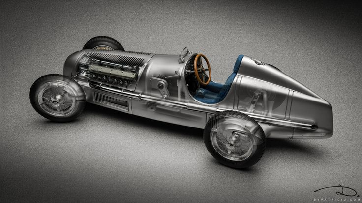 Mercedes-Benz W25 by CMC in 1:18th scale - See-through photo