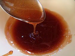 sugaring - using a sugar mixture for hair removal. It's said to be a lot less painful than waxing