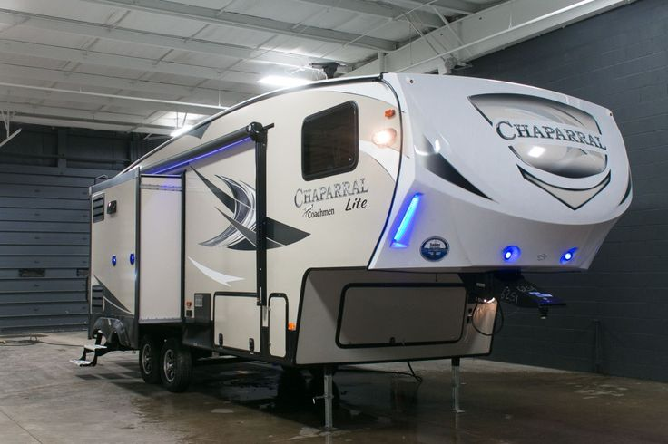 AMAZING LIGHTWEIGHT FULL-TIME 5TH WHEEL!  2017 Coachmen Chaparral Lite 28RLS This lightweight RV is perfect for full-time living! Get a perfect night's sleep every night on your residential queen bed with a memory foam mattress! A dry camping package is perfect for unplugged trips with 12V components! You'll also appreciate the polar package in winter, complete with thermal insulation! Give our Chaparral Lite expert Corey Clarke a call 616-378-6784 for pricing and more information.